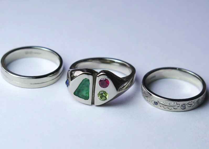 Rosalyn's Emporium - Make your own wedding rings during an